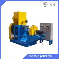 Buy cheap Cheapest Price Fish Food Extruder/Floating Fishs Feed Pellet Machine for Fishery from wholesalers