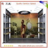 Buy cheap Convention Portable Tradeshow Booths / Aluminum Modular Display System from wholesalers