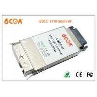 Buy cheap Double fiber SC GBIC Transceiver module 1.25G SMF 1550nm 60KM for interface from wholesalers