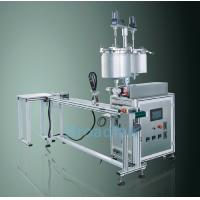 Buy cheap Unique eyebrow Single - nozzle Liquid Eyeliner Filling Machine with Conveyor from wholesalers