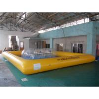 Buy cheap Durable 0.6mm PVC Tarpaulin Inflatable Water Swimming Pool, Widely used Paddling Pools from wholesalers