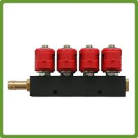 Buy cheap VALTEK Type  4Cyl LPG Injectors Rail with jets - Autogas CNG GPL 3Ohm from wholesalers