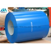 Prepainted Steel Electrogalvanized Cold Rolled Coil 0.11mm - 1.0mm Thickness