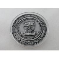 Buy cheap 2D or 3D Personalized Coins / School Campus Coin with Antique Silver, Anti Nickel, Anti Brass Plating product