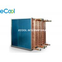 Buy cheap Custom Air Cooled Cooling Coil /  Condenser Or Evaporator Parts Fin And Tube Evaporator from wholesalers