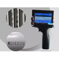 Buy cheap High Performance Handheld Inkjet Printer 1-8 Lines Lightweight For Expiry Date from wholesalers