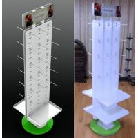 Buy cheap Custom Counter Jewelry Shop Display Stands With Plastic Panel from wholesalers