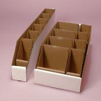 Buy cheap Small Parts Bin with Dividers Corrugate Box from wholesalers