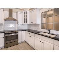 Buy cheap Additional Edge Natural Quartz Countertops Cabinet Polished Surface from wholesalers