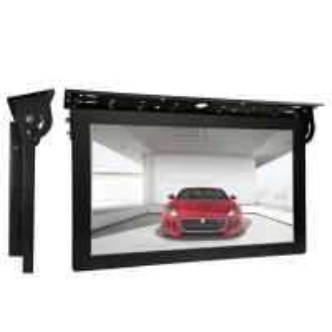 Buy cheap Dust Proof Bus Digital Signage , Custom Logo Wifi Car Headrest Dvd Player product
