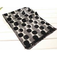 Buy cheap 2013 fashion Mens winter black and white long Silk Scarf 100% pashmina/wool/cashmere scarves Shawl from wholesalers