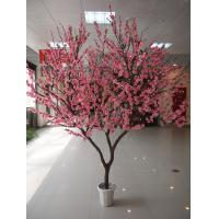 Buy cheap China 2017 Hot selling Different shape artificial tree artificial peach blossom tree artificial wishing flower tree from wholesalers