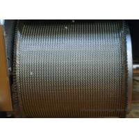 Buy cheap Furnace Tunnel Wire Belt Conveyor High Temperature Pressed Edge ISO9001 from wholesalers