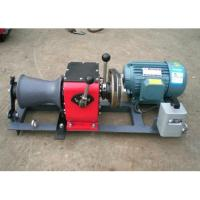 Buy cheap Small Light 1 Ton Cable Winch Puller Wire Rope Pulling Winch 2.2KW Eletro Motor from wholesalers