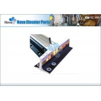 Buy cheap Steel T Type Elevator Guide Rail , Machined Guide rails , Elevator Components from wholesalers