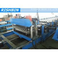 Buy cheap Carbon Arch Culvert Cold Roll Roof Panel Roll Forming Machine 30 m / min , 0.8 - 1.2 mm from wholesalers