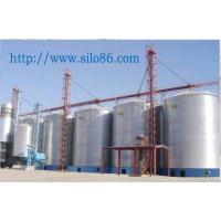 Steel Silo with Steel Structure  Foundation