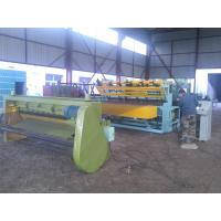 Industrial Fence Panel Making Machine , Fully Automatic Wire Mesh Machine