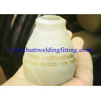 Buy cheap Nickel Alloys Inconel 600 / 601 / 800 , Inconel 801 / 718  Stainless Steel Reducer 10x6 Con / Ecc from wholesalers