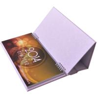 Buy cheap Personalised Desk Calendar Printing Wire O Binding Eye - Catching Design from wholesalers