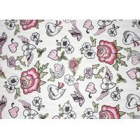Buy cheap Fashion Multi Colored Lace Fabric Made By High End Schiffli Lace Facility product