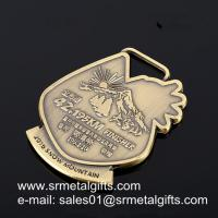 Buy cheap Tailor made exclusive engraved metal medals wholesaler China factory from wholesalers