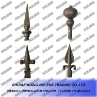 Buy cheap Casting Steel Gate/Fence's Ornamental Spears and Spearpoints,Cast Steel Spears,Wrought Iron Railheads from wholesalers