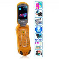 Buy cheap F599 dual sim Car shape Flip luxury Mobile Phone from wholesalers