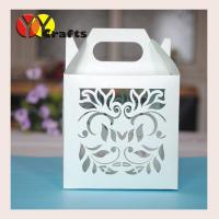 Buy cheap Customized Wedding Gift Boxes cake box portable unquie personalize from wholesalers