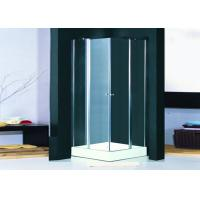 Buy cheap Frameless Hinged Shower Enclosure Pivot Door Clear Glass Shower Cabins 800 x 800 from wholesalers