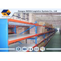 Buy cheap Hot Rolled Steel Stable Longspan Shelving 1000 Kgs Per Layer Loading Capacity from wholesalers