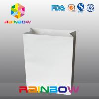 Buy cheap Pain Paper Bag Supermaket Shopping Bag For Food , Clothes Packing Bags from wholesalers