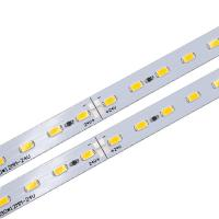 Buy cheap DC 24V Rigid LED Strip PCB Board Module with SMD 5630 LEDs for Shelves or Counters Lighting from wholesalers