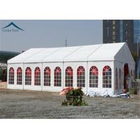 Buy cheap Windproof Outdoor Event Tents With Aluminium Frame And Clear Windows from wholesalers