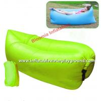 Buy cheap Kids / Adults Outside Camping Sleep Air Bag Lounge Yellow Rip - Stop Nylon from wholesalers