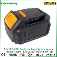 Buy cheap Rechargeable Power Tool Battery 3000mAh For Dewalt XR Li-Ion 14.4V, DCB140, DCB140-XJ from wholesalers