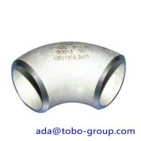 Buy cheap ASTM A403 WP321 / H Butt Weld Fittings Long Radius 90 Degree Elbow product