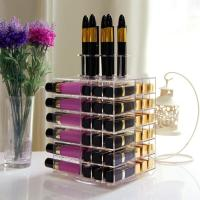 Buy cheap Lifewit 81 Slot Spinning Lipstick Tower Acrylic Rotating Lipgloss Holder Makeup Organizer from wholesalers