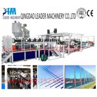 Buy cheap with UV coating polycarbonate pc solid/embossed acrylic sheet manufacturing machinery from wholesalers