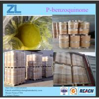 Buy cheap MF C6H4O2 P-benzoquinone yellow powder raw material for paint industry from wholesalers