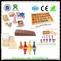 Buy cheap Wooden Educational Toys Montessori Materials Montessori Toys for Sale from wholesalers
