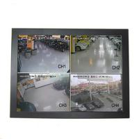 Buy cheap Black 15 Inch CCTV LCD Monitor Panel Wall Mount Wide Viewing Angle Low Consumption from wholesalers
