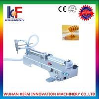 Buy cheap 2017 hot sale epoxy floor level paint semi-auotmatic liquid filling machine made in china from wholesalers