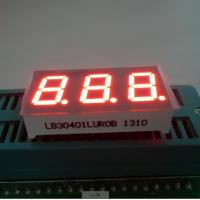 Buy cheap Triple Digit 7 Segment LED Digital Display For Instrument Panel Indicator 0.40 inch from wholesalers