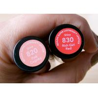 Buy cheap Coated Paper Cosmetic Sticker Labels Anti Tear Off For Lipstick Tube from wholesalers