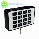 Buy cheap Pinpad Smart Card Mobile Card Reader ISO7816 Card Reader  Emv Card Reader Audio Jack from wholesalers