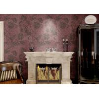 Buy cheap Removable Embossed Country Style Wallpaper / Vinyl Modern Wallcovering from wholesalers
