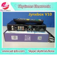 Buy cheap NEW !!jynxbox ultra hd v10 supporting ATSC ,turbo 8psk and dvb-s2 optional FTA receiver from wholesalers