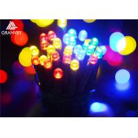 Buy cheap 12M Multi Colored Outdoor String Lights Round Bulbs, Decorative Hanging Lights from wholesalers