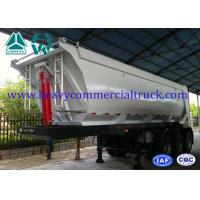 Buy cheap 45 Ton U Shape Tipper Semi Trailer Front Tipping With 12R22.5 Tubeless Tire from wholesalers